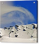 Wind Skier Acrylic Print by Tap On Photo
