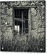 Window Of Memories Acrylic Print by Stelios Kleanthous