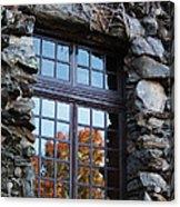 Window To The World Acrylic Print by Sandi Blood