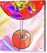 Wine Perpective Acrylic Print by Joan  Minchak