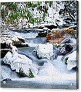 Winter Acrylic Print by Darren Fisher