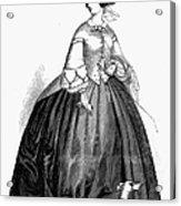 Womens Fashion, 1857 Acrylic Print by Granger