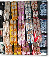 Wooden Shoes  Acrylic Print by Jim Chamberlain