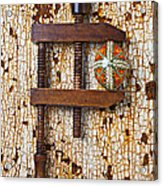 Wooden Vce And Easter Egg Acrylic Print by Garry Gay