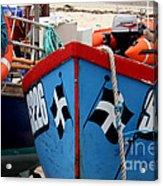 Working Harbour Acrylic Print by Terri Waters