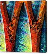 World Wide Web Acrylic Print by Paul Wear
