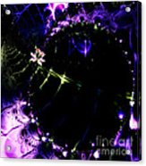 Wormhole Beyond . Square . S4a.s10 Acrylic Print by Wingsdomain Art and Photography