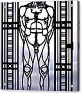 Wrought Iron Gate Acrylic Print by Steve Harrington