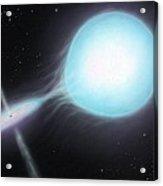 X-ray Binary, Artwork Acrylic Print by Richard Bizley