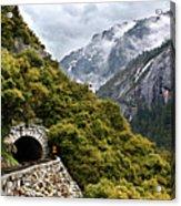 Yosemite Tunnel Acrylic Print by Jill Buschlen