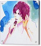 You And I Must Make A Pact Acrylic Print by Hitomi Osanai