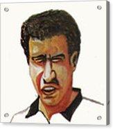 Younes El Aynaoui Acrylic Print by Emmanuel Baliyanga