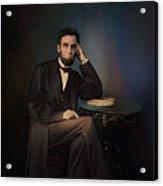 Abraham Lincoln Acrylic Print by Andrzej Szczerski