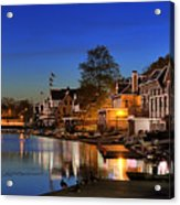 Boathouse Row  Acrylic Print by John Greim