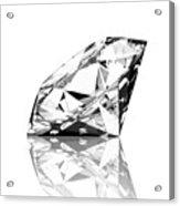 Diamond Acrylic Print by Setsiri Silapasuwanchai