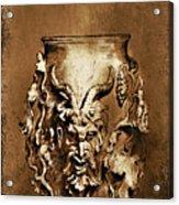Dionysus.... Acrylic Print by Andrzej Szczerski