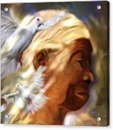 In The Spirit Acrylic Print by Bob Salo