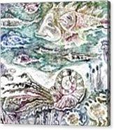 Sea World Acrylic Print by Milen Litchkov