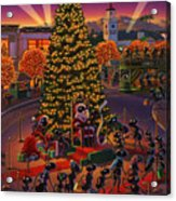 Visiting Santa Anta  Acrylic Print by Robin Moline