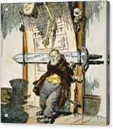 Skeletons Of Malfeasance Acrylic Print by Granger