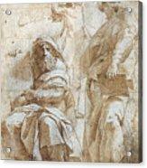 Raphael: Study, C1510 Acrylic Print by Granger