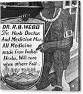 Medicine Man, 1938 Acrylic Print by Granger