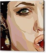 053. Never Send A Boy To Do A Woman's Job Acrylic Print by Tam Hazlewood