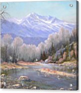 060521-3624  Spring In The Rockies Acrylic Print by Kenneth Shanika