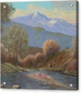 060630-1814  The Land Awakes In Spring   Acrylic Print by Kenneth Shanika