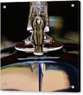 1934 Packard Hood Ornament 3 Acrylic Print by Jill Reger