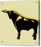 3 Bulls Acrylic Print by Slade Roberts