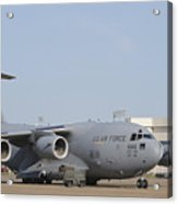 A C-17 Globemaster IIi Parked Acrylic Print by Stocktrek Images
