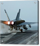 An Fa-18 Hornet Launches Acrylic Print by Stocktrek Images