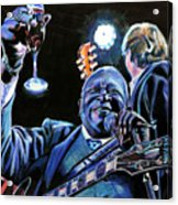 Bb King Acrylic Print by Chris Benice