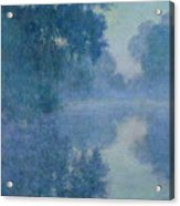Branch Of The Seine Near Giverny Acrylic Print by Claude Monet