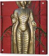 Buddha 1 Acrylic Print by Vijay Sharon Govender