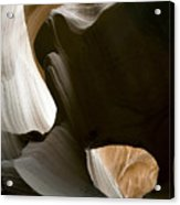 Canyon Sandstone Abstract Acrylic Print by Mike Irwin
