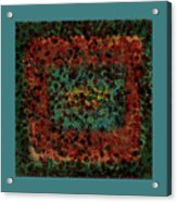 Chaos Acrylic Print by Bonnie Bruno