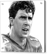 Dan Marino Acrylic Print by Harry West