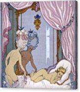 Dangerous Liaisons Acrylic Print by Georges Barbier