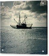 Fishing Boat Acrylic Print by Joana Kruse