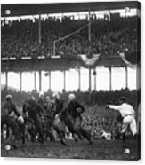 Football Game, 1925 Acrylic Print by Granger