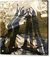 Friends Acrylic Print by Julie Niemela