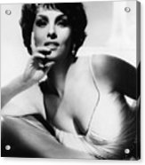 Gina Lollobrigida, Ca. Early 1960s Acrylic Print by Everett