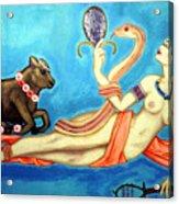 Hathor Acrylic Print by Diveena Marcus