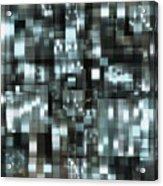 industrialLight 1 Acrylic Print by Harry Hunsberger