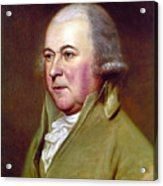 John Adams (1735-1826) Acrylic Print by Granger
