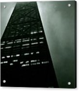John Hancock Building - Chicago Illinois Acrylic Print by Michelle Calkins