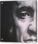 Johnny Cash 2 Acrylic Print by Eric Dee