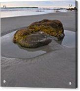 Longsands Rock Acrylic Print by Catherine Easton